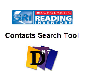 District 87's Contacts Search Tool